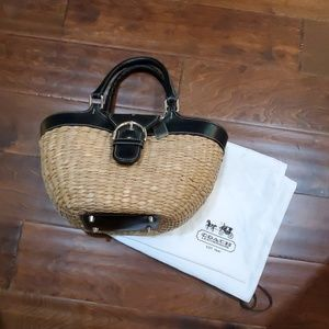 Coach Basket Bag